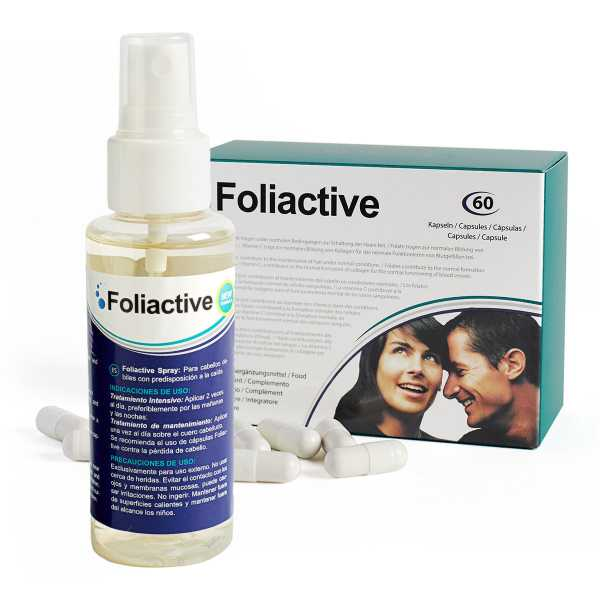 Foliactive Spray + Foliactive Tabletten