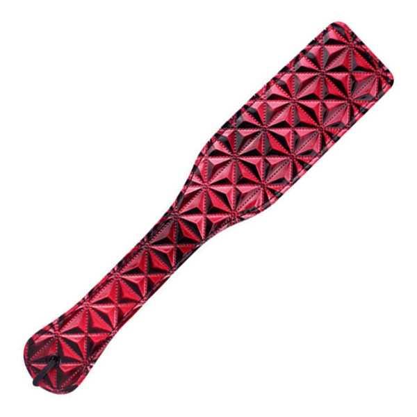 Deluxe Paddel Rot-Schwarz