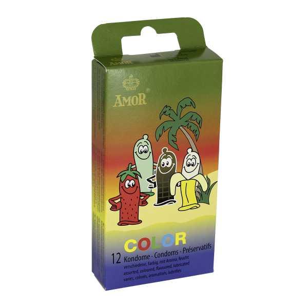 Amor Color 12 Kondome