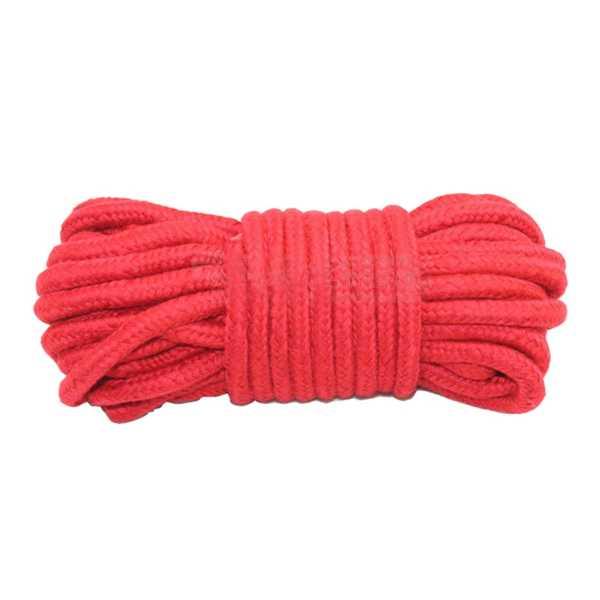 Rotes Bondage Seil 4 m