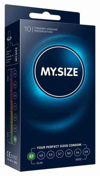 "MY.SIZE 10 Kondome ""47 mm"""