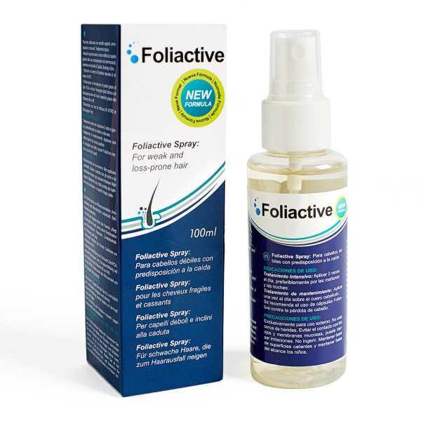 Foliactive Spray gegen Haarausfall