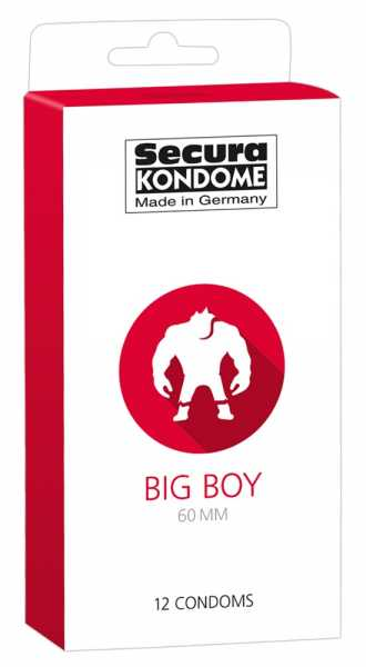 Secura Big Boy 12 Kondome