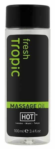 HOT Fresh Tropic Massage Oil 100 ml