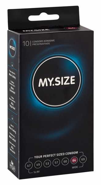 "MY.SIZE 10 Kondome ""64 mm"""