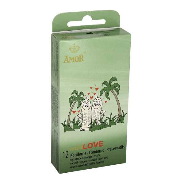 Amor Wild Love 12 Kondome