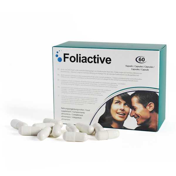 Foliactive Tabletten gegen Haarausfall