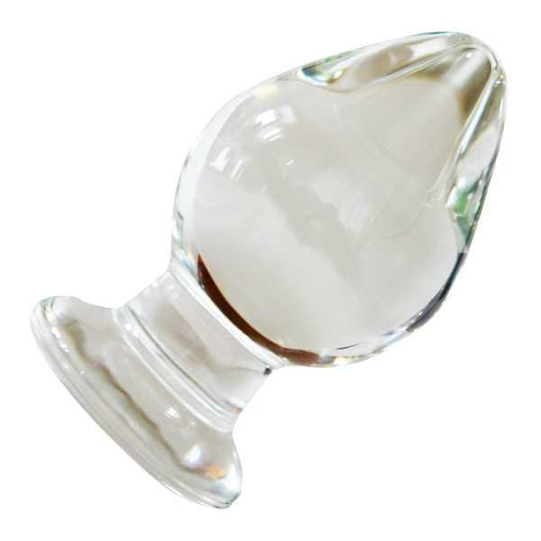 Großer Analplug aus Glas 10,5 CM