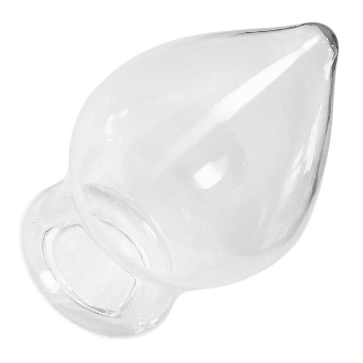 Vunovu XXL Hollow Glass-Plug Clear 12 cm kaufen