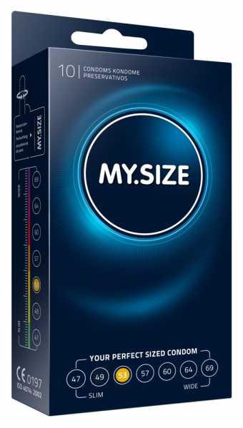 "MY.SIZE 10 Kondome ""53 mm"""