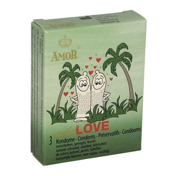 Amor Wild Love 3 Kondome