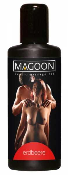 Magoon Erdbeere Massage-Öl 100 ml