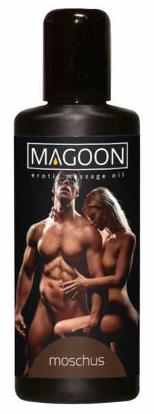 Magoon Moschus Massage-Öl 100 ml