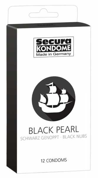 Secura Black Pearl 12 Kondome