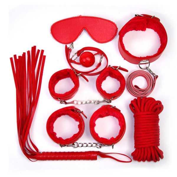 Rotes Bondage Set