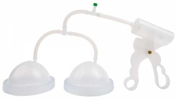Fröhle Brustpumpe mit Scherengriff Duo Cup A