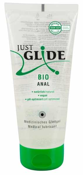 Just Glide Bio Anal Vegan Gleitgel 200 ml