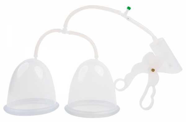 Fröhle Brustpumpe mit Scherengriff Duo Cup C