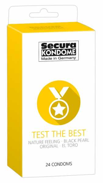 Secura Test the Best Condoms 24 Kondome