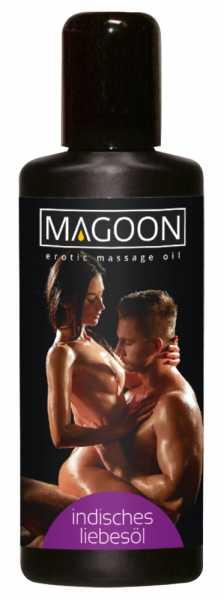 Magoon Indisches Liebes-Öl Massage-Öl 100 ml