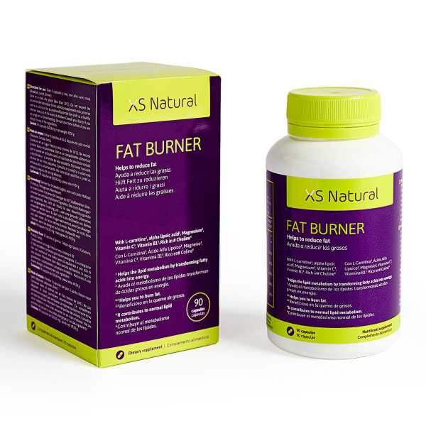 XS Natural Fat Burner fettverbrennende Tabletten