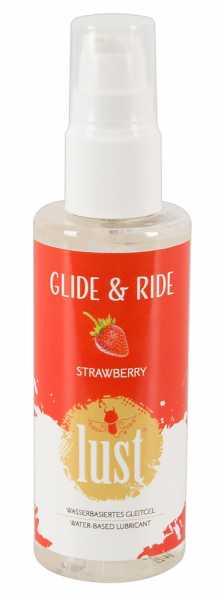 Lust Strawberry Gleitgel 100 ml
