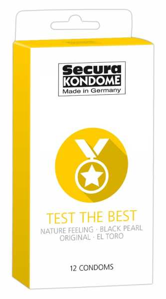 Secura Test the Best Condoms 12 Kondome