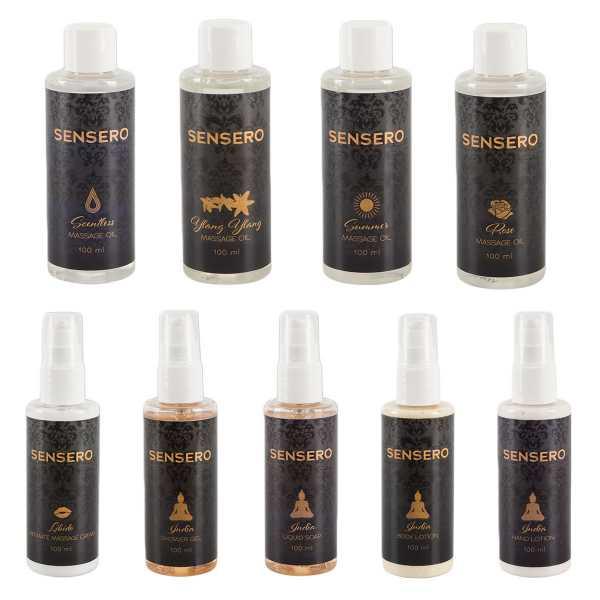 Sensero Massage & Libido Set 900 ml