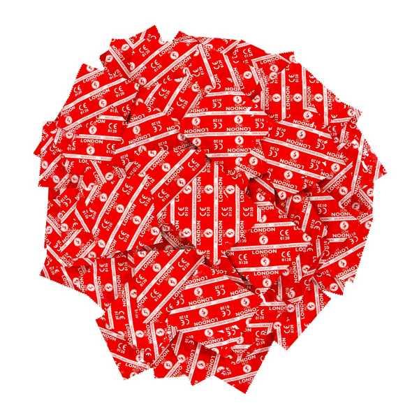 100 London Kondome Rot