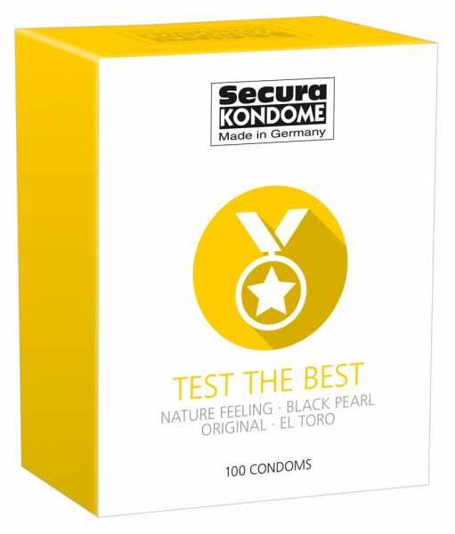 Secura Test the Best Condoms 100 Kondome