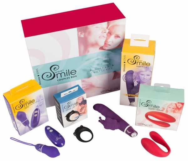 Sweet Smile Couples Sextoys Box
